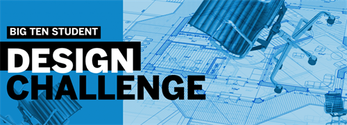 logo reading Big Ten Student Design Competition